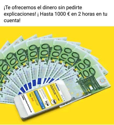 SOLICITA TU PRÉSTAMO HASTA 3000 EUROS - foto 1