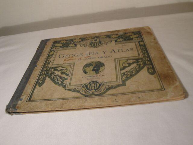 GEOGRAFÍA Y ATLAS. SEGUNDO GRADO. AÑO 1924 - foto 9
