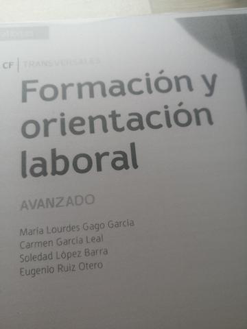 LIBRO FORMACIÓN Y ORIENTACIÓN LABORAL - foto 2