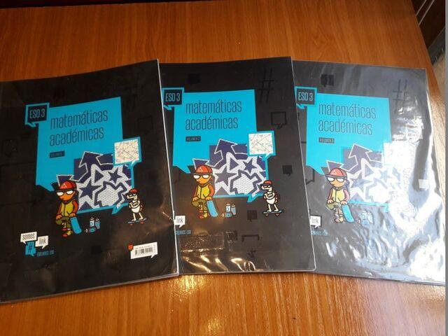 MATEMATICAS ACADEMICAS 3ºESO (3 VOLUMENE - foto 1