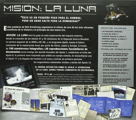 MISION:  LA LUNA - TAPA DURA - foto 2