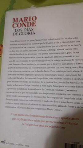 LIBROS MARIO CONDE+DON JUAN+EL MUNDO QUE - foto 5
