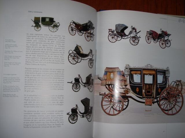 LIBRO HISTORIA DEL CARRUAJE EN ESPAÑA GR - foto 9