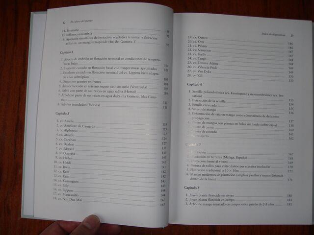 LIBRO EL CULTIVO DEL MANGO VICTOR GALAN - foto 4