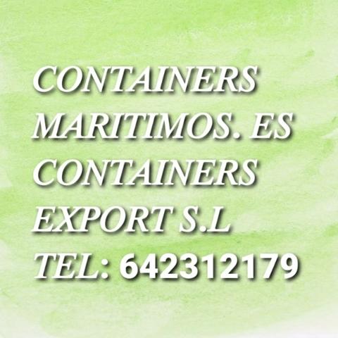 CONTAINERS MARÍTIMOS CARTAGENA 6M - foto 4