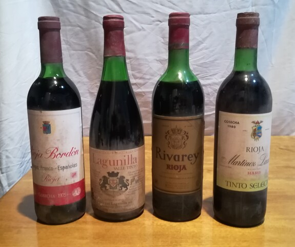 4 Botellas Vino Rioja
