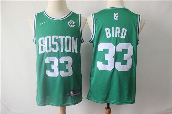 CAMISETA NBA BOSTON 33 VERDE 2020 - foto 1