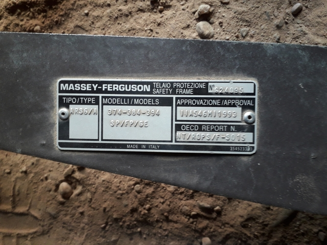 MASSEY FERGUSON - 394 F - foto 2