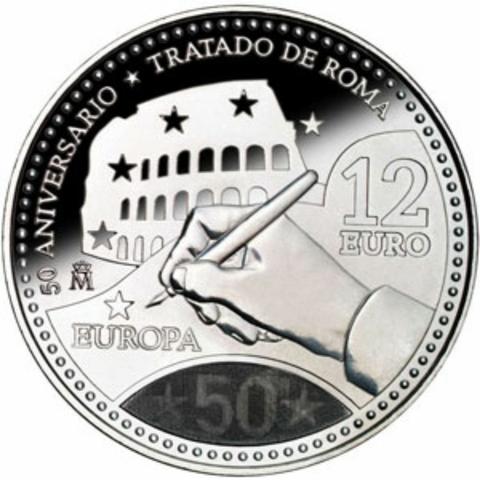 Moneda De Plata Conmemorativa