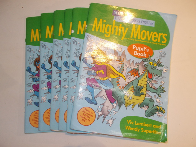 LOTE 5  LIBROS MIGHTY MOVERS - foto 1