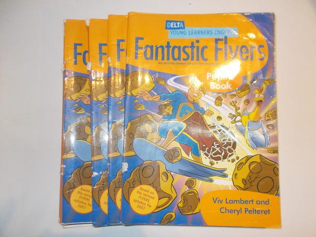 LOTE 5 LIBROS FANTASTIC FLYERS - foto 1