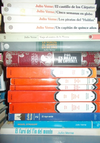 LOTE 5 LIBROS DE AVENTURAS JULIO VERNE - foto 1