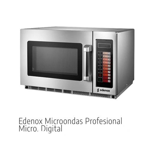 MICROONDAS PROFESIONAL EDENOX 25L.  - foto 1