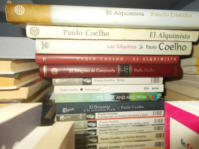 LOTE 5 LIBROS DE PAULO COELHO - foto 1