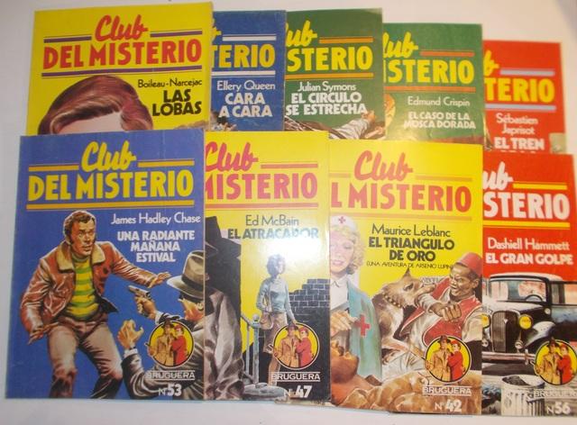 LOTE 5 REVISTAS DEL CLUB DEL MISTERIO - foto 1