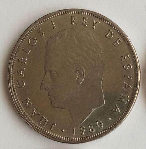 Moneda De 100 Pesetas España\'82