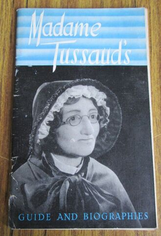 MADAME TUSSAUD´S GUIDE AND BIOGRAPHIES - foto 1