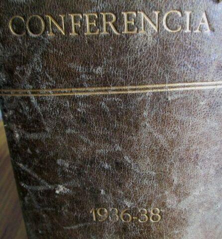 CONFERENCIA 1927 - 1928 - foto 2