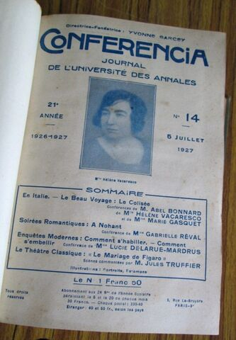 CONFERENCIA 1927 - 1928 - foto 4
