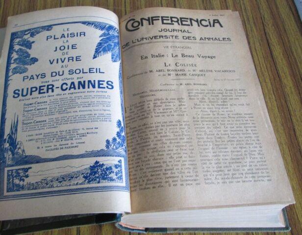 CONFERENCIA 1927 - 1928 - foto 5