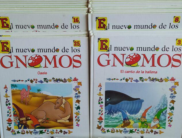 COLECCION EL NUEVO MUNDO DE LOS GNOMOS - foto 3