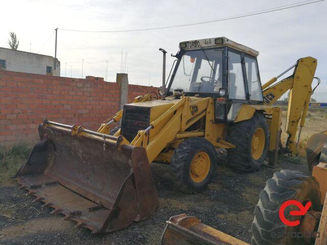 RETRO EXCAVADORA JCB 4X4 TURBO 3CX - foto 1