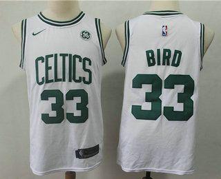 CAMISETA NBA BOSTON 33 BLANCA 2020 - foto 1