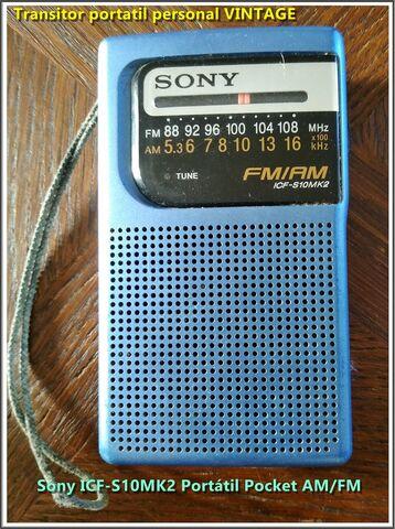 RADIO TRANSISTOR SONY ICF-S10MK2 - foto 1