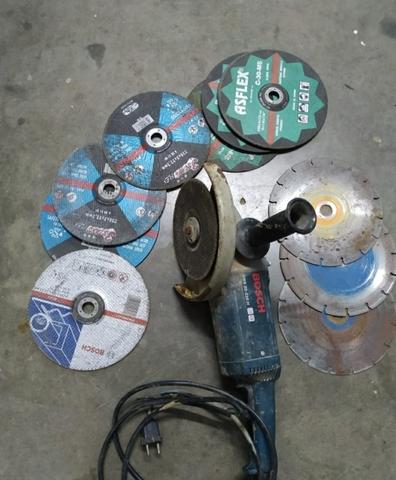 Radial Bosch Y Regalo Discos