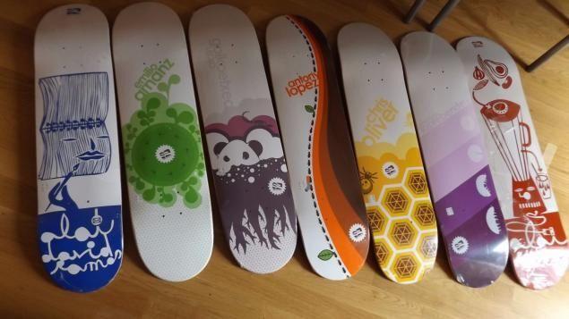 Tablas Skate