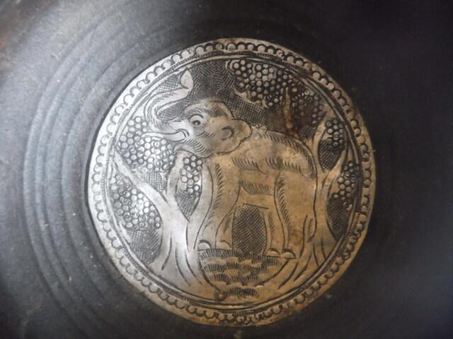 Cenicero De Madera Elefante