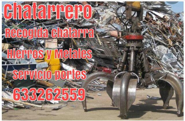 CHATARRERO CHATARRERIA CHATARRA RECOGIDA - foto 1