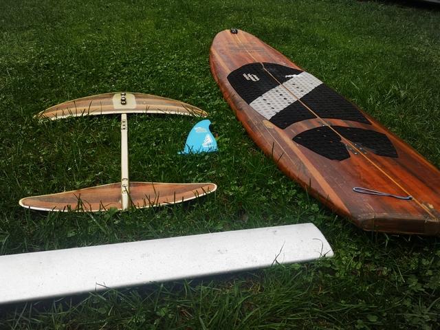 TABLA SURF KITE WAKE + FOIL - foto 2