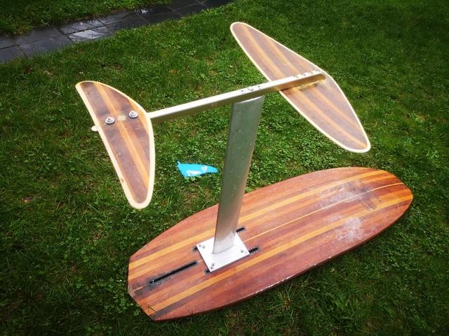 TABLA SURF KITE WAKE + FOIL - foto 8