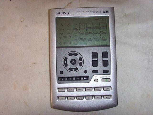 MANDO A DISTANCIA SONY  RM-AV2500T