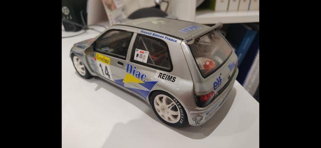 Maqueta 1:18 Renault Clio Ragnotti Nueva