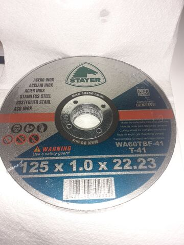 Discos De Corte 125X1