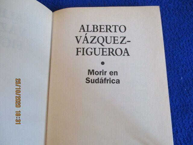 MORIR EN SUDÁFRICA A. V.   FIGUEROA - foto 3