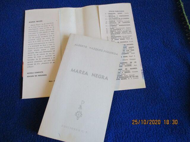 MAREA NEGRA A.  VAZQUEZ FIGUEROA - foto 3