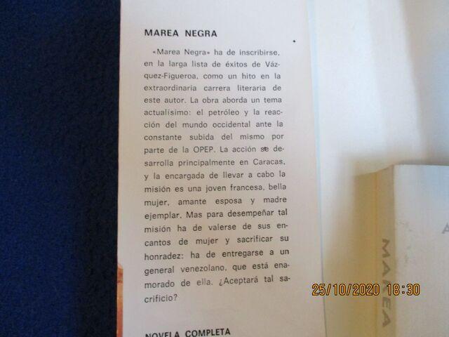 MAREA NEGRA A.  VAZQUEZ FIGUEROA - foto 4