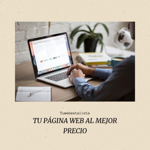 DISEÑO DE PÁGINAS WEB - foto 1