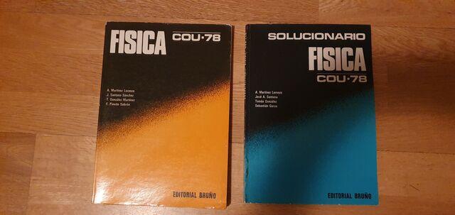 LIBRO FÍSICA Y SOLUCIONARIO COU-78 - foto 1