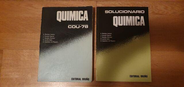 QUÍMICA Y SOLUCIONARIO COU 78 - foto 1
