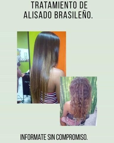 TRATAMIENTO DE ALISADO BRASILEÑO! - foto 1