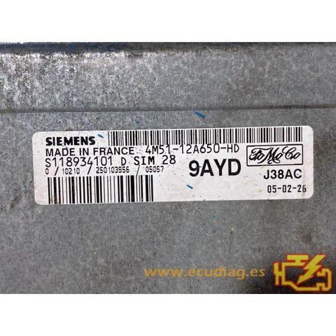 S118934101D FORD 4M51-12A650-HD 9AYD - foto 2