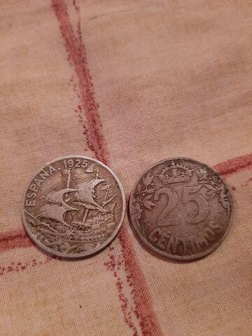 Monedas 25Centimos