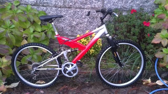 Bicicleta Montaña Doble Amortiguacion