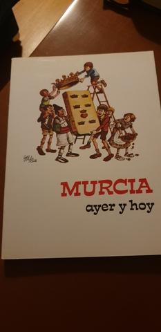 Libro Antiguo. Murcia Ayer Y Hoy.