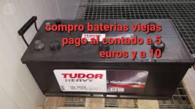 SE COMPRAN BATERÍAS USADAS,  ESTROPE - SE COMPRAN BATERÍAS USADAS,  ES - foto 1