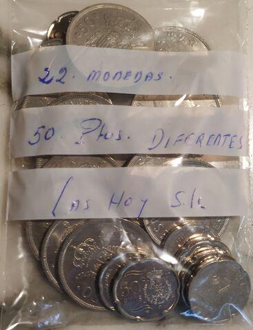 Colección 50 Pesetas, 22 Monedas.
